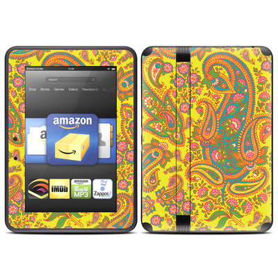 Amazon Kindle Fire HD (2012) Skin - Bombay Chartreuse