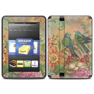 Amazon Kindle Fire HD (2012) Skin - Splendid Botanical