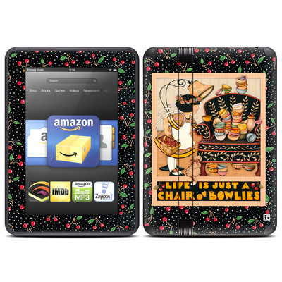 Amazon Kindle Fire HD (2012) Skin - Chair of Bowlies