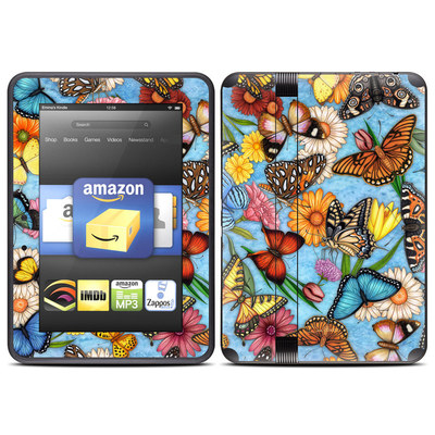 Amazon Kindle Fire HD (2012) Skin - Butterfly Land