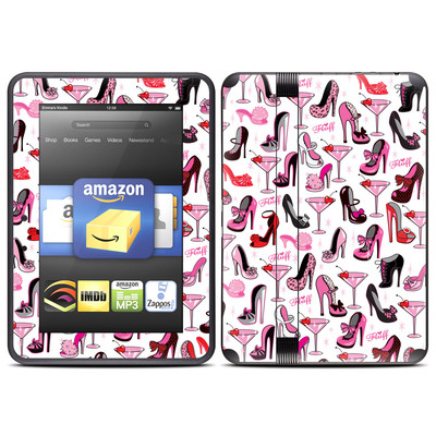 Amazon Kindle Fire HD (2012) Skin - Burly Q Shoes