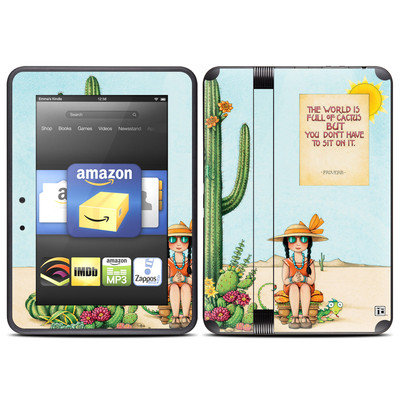 Amazon Kindle Fire HD (2012) Skin - Cactus
