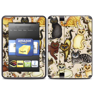 Amazon Kindle Fire HD (2012) Skin - Cats