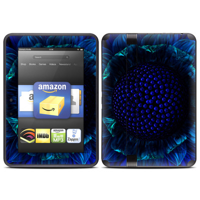 Amazon Kindle Fire HD (2012) Skin - Cobalt Daisy