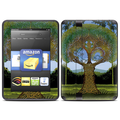 Amazon Kindle Fire HD (2012) Skin - Celtic Tree
