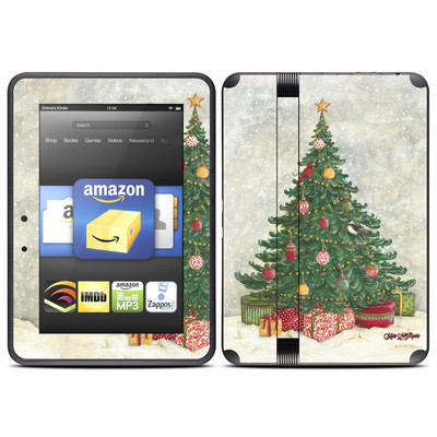 Amazon Kindle Fire HD (2012) Skin - Christmas Wonderland
