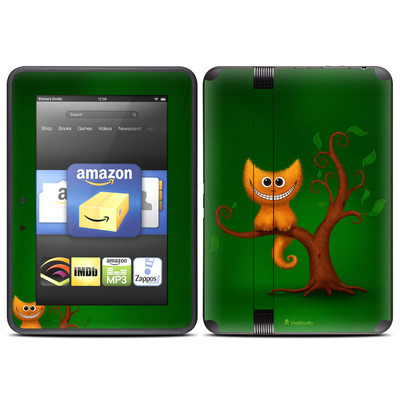 Amazon Kindle Fire HD (2012) Skin - Cheshire Kitten