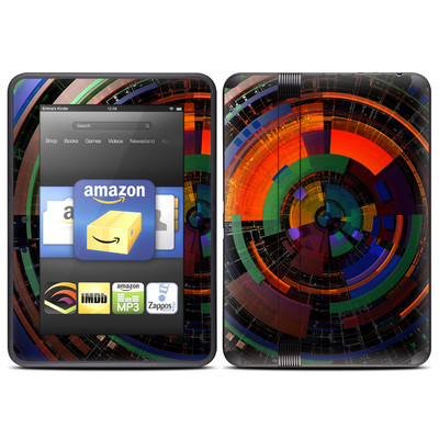 Amazon Kindle Fire HD (2012) Skin - Color Wheel