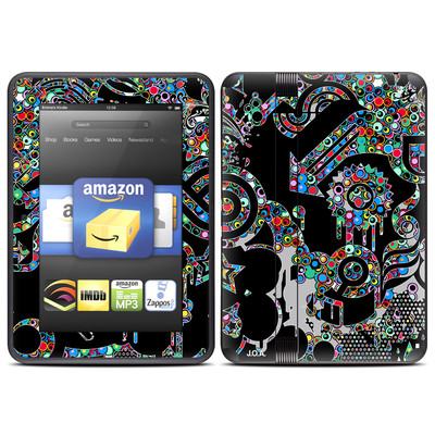 Amazon Kindle Fire HD (2012) Skin - Circle Madness