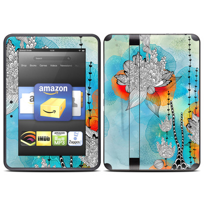 Amazon Kindle Fire HD (2012) Skin - Coral