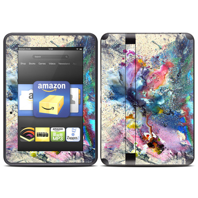 Amazon Kindle Fire HD (2012) Skin - Cosmic Flower