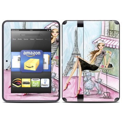 Amazon Kindle Fire HD (2012) Skin - Cafe Paris