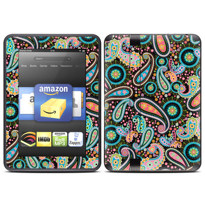 Amazon Kindle Fire HD (2012) Skin - Crazy Daisy Paisley