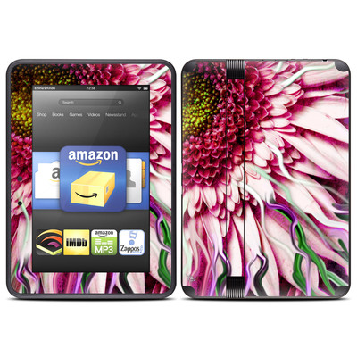 Amazon Kindle Fire HD (2012) Skin - Crazy Daisy