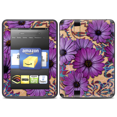 Amazon Kindle Fire HD (2012) Skin - Daisy Damask
