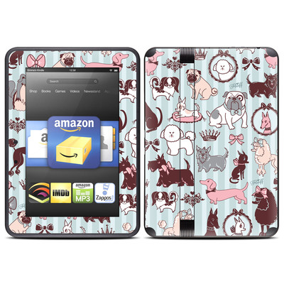 Amazon Kindle Fire HD (2012) Skin - Doggy Boudoir