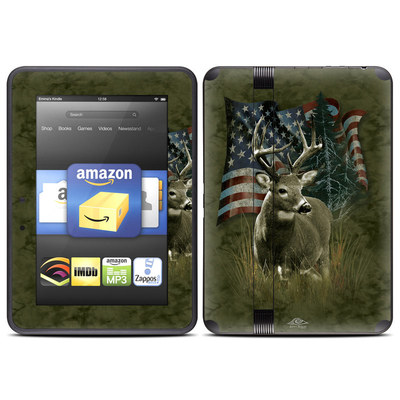 Amazon Kindle Fire HD (2012) Skin - Deer Flag