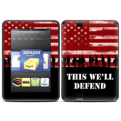 Amazon Kindle Fire HD (2012) Skin - Defend