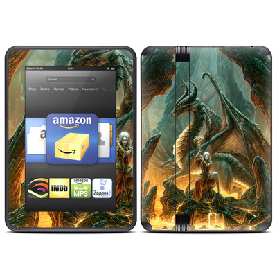 Amazon Kindle Fire HD (2012) Skin - Dragon Mage