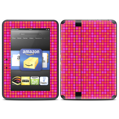 Amazon Kindle Fire HD (2012) Skin - Dots Pink