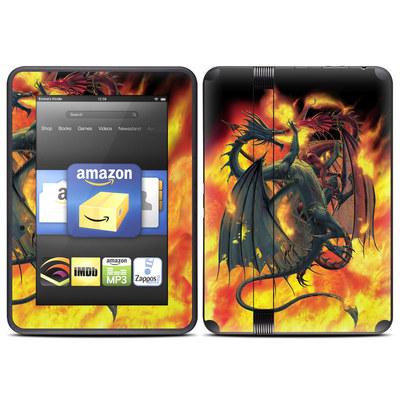Amazon Kindle Fire HD (2012) Skin - Dragon Wars