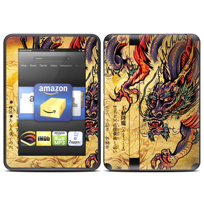 Amazon Kindle Fire HD (2012) Skin - Dragon Legend