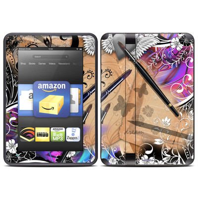 Amazon Kindle Fire HD (2012) Skin - Dream Flowers