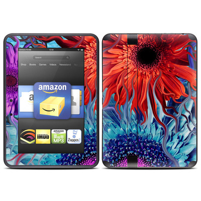 Amazon Kindle Fire HD (2012) Skin - Deep Water Daisy Dance