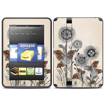 Amazon Kindle Fire HD (2012) Skin - Four Flowers