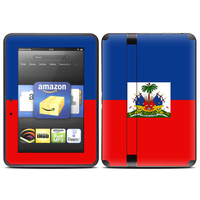Amazon Kindle Fire HD (2012) Skin - Haiti Flag