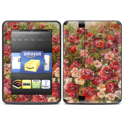 Amazon Kindle Fire HD (2012) Skin - Fleurs Sauvages