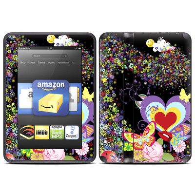 Amazon Kindle Fire HD (2012) Skin - Flower Cloud