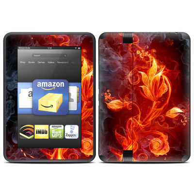 Amazon Kindle Fire HD (2012) Skin - Flower Of Fire