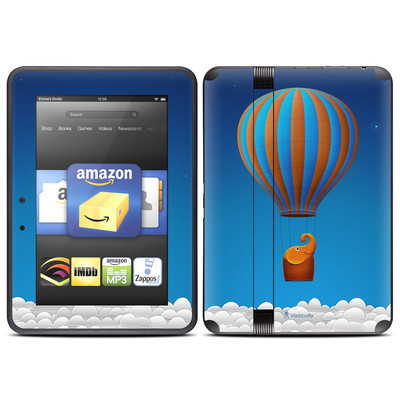 Amazon Kindle Fire HD (2012) Skin - Flying Elephant