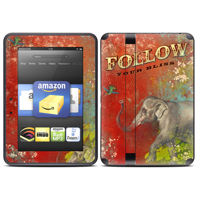 Amazon Kindle Fire HD (2012) Skin - Follow Your Bliss