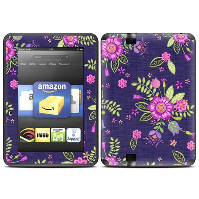 Amazon Kindle Fire HD (2012) Skin - Folk Floral