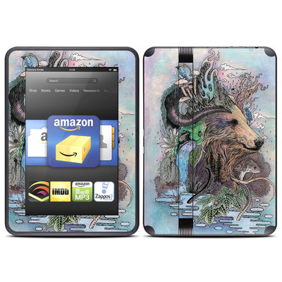 Amazon Kindle Fire HD (2012) Skin - Forest Warden