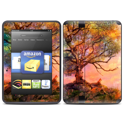 Amazon Kindle Fire HD (2012) Skin - Fox Sunset