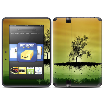 Amazon Kindle Fire HD (2012) Skin - Flying Tree Amber