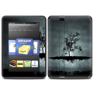 Amazon Kindle Fire HD (2012) Skin - Flying Tree Black