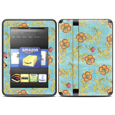 Amazon Kindle Fire HD (2012) Skin - Garden Jewel