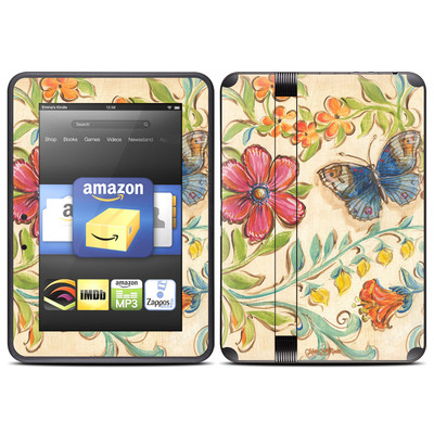 Amazon Kindle Fire HD (2012) Skin - Garden Scroll