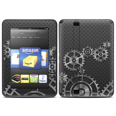 Amazon Kindle Fire HD (2012) Skin - Gear Wheel