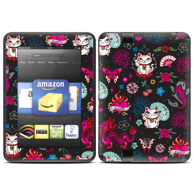 Amazon Kindle Fire HD (2012) Skin - Geisha Kitty