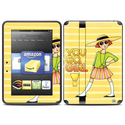 Amazon Kindle Fire HD (2012) Skin - You Go Girl