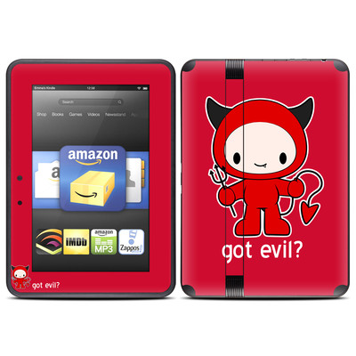 Amazon Kindle Fire HD (2012) Skin - Got Evil