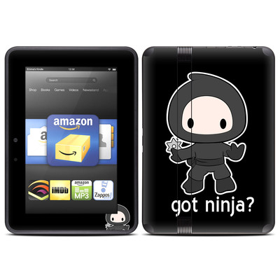 Amazon Kindle Fire HD (2012) Skin - Got Ninja