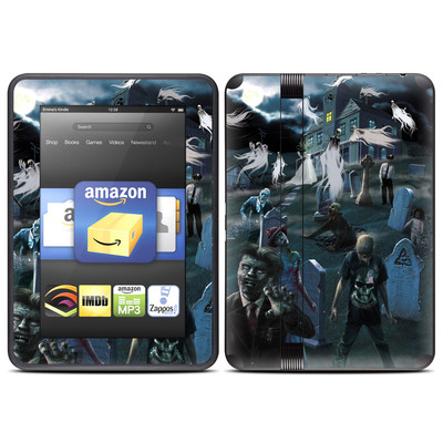 Amazon Kindle Fire HD (2012) Skin - Graveyard