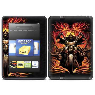 Amazon Kindle Fire HD (2012) Skin - Grim Rider