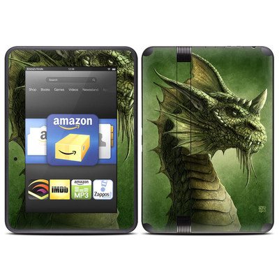 Amazon Kindle Fire HD (2012) Skin - Green Dragon